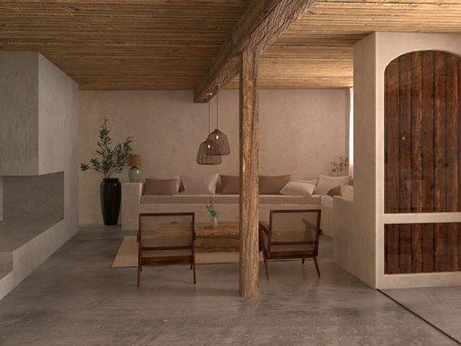 Casa labriega en las hoces del Duratón